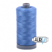 Aurifil 28 Cotton Thread - 1128 (Mid Blue)